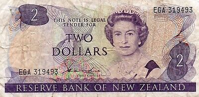 New Zealand $2.00 Bank note