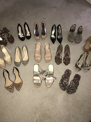 Women's Shoe Lot 27 Pairs!