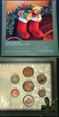 2005 Canada Mint Set 7 Coin Holiday Set