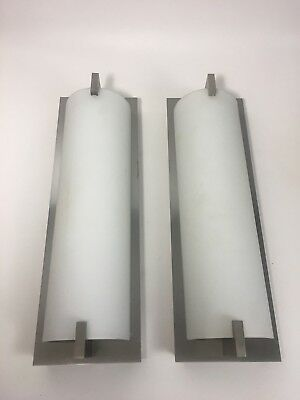 Pair Of Art Deco Xenon Wall Lights Sconces Architectural Salvage