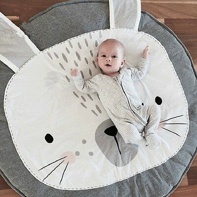 Cute Kids Floor Mats Baby Crawling Blanket Cotton Mat Carpet Children  Play  Rug