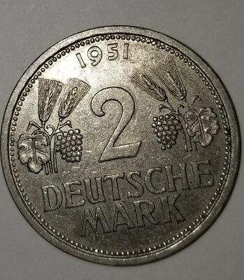Germany - Federal Republic 2 Mark, 1951