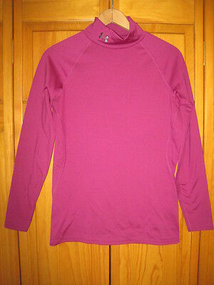 Under Armour Cold Gear Fitted shirt women's M skiing soccer softball running