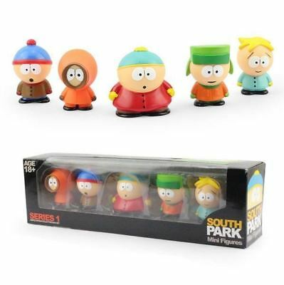 TV ANIMATION FIGURINES South Park Collectibles Mini PVC Action Figure Collection