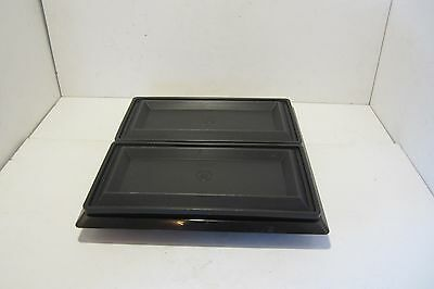 Vintage Tupperware Get Together Acrylic Buffet Serving Tray Set
