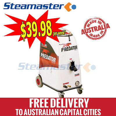 Carpet Cleaner Steam Tile Cleaning Machine Polivac Predator MKIII w accessories
