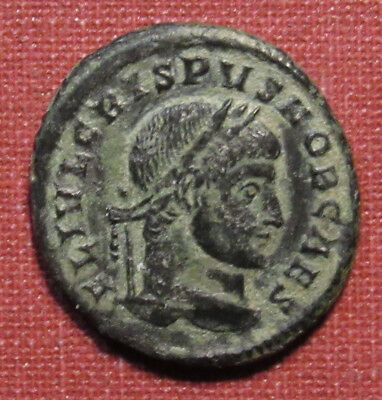 317-326 Ad Ancient Rome Crispus, Sirmium Mint, Dug Coin With Decent Detail