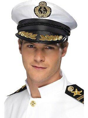 Yacht Captains Sailor Navy Cap Sailing Captains Hat