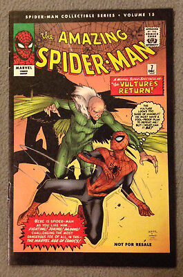SPIDER-MAN COLLECTIBLE SERIES VOLUME #15 -The Vulture!  -MARVEL REPRINT 2006