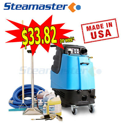 Carpet Cleaner Steam Cleaning Equipment Mytee 1003DX Lite Heated w accessories