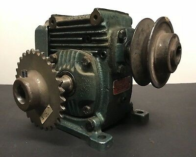 Foote Bros. Radicon Gearbox Speed Reducer  25:1 Ratio - Used