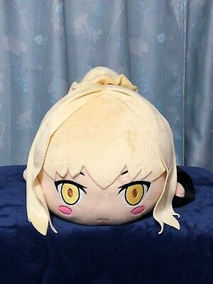 Fate Stay Night Alter Saber Plush Doll Nesoberi Mega Jumbo SEGA JAPAN