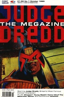 Judge dredd the megazine issue 1 and 2