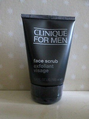Clinique for Men Face Scrub 100ml , New & Sealed . RRP £21