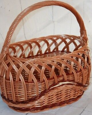 Quality - Wicker Shopping  Basket -beautiful, picnic, vegetables , fruits