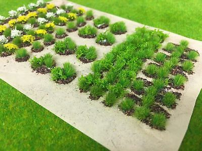 Allotment Crops Set 02 Spring Flowers -Static Grass Tufts Model Scenery Garden