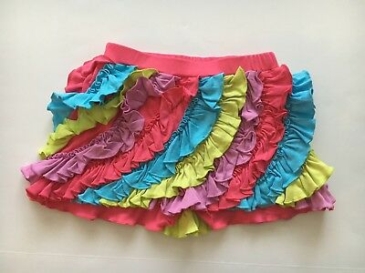 Girls Lemon Loves Lime Ruffle Short Size 10