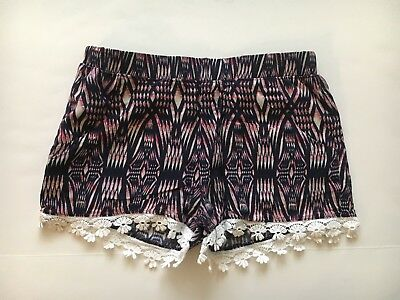 Girls Red Camel Shorts Size Medium