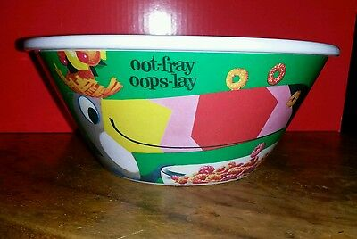 Kellogg's 100th Anniversary 2006 Melamine Froot Loops Cereal Bowl