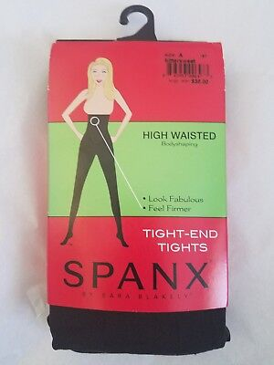 9d69e168f NIP - SPANX Bodyshaping High-Waisted Tight-End Tights - Bittersweet - Size A