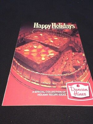 Happy Holidays from Duncan Hines  Special Collection of Holiday Recipe Ideas '80
