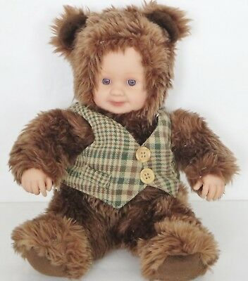 ANNE GEDDES 12 Inches Baby Bear Plush Doll Toy