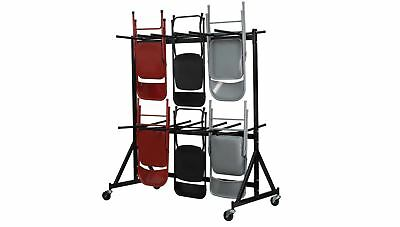 Hanging Folding Chair Truck Dolly Storage Organizer Steel Rack Seating Transport