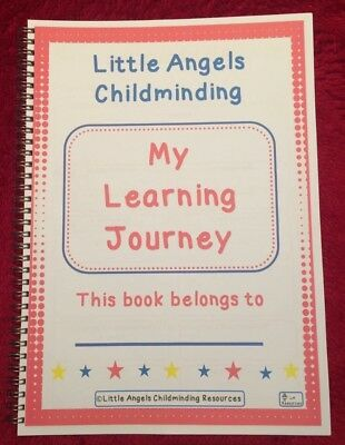 ⭐️📕A4 LEARNING JOURNEY BOOKS, EYFS, wirebound, over 100 pages,childminders 📕⭐️
