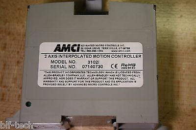 AMCI 3102i 2 Axis Motion Controller Module For Allen-Bradley Micrologix PLCs