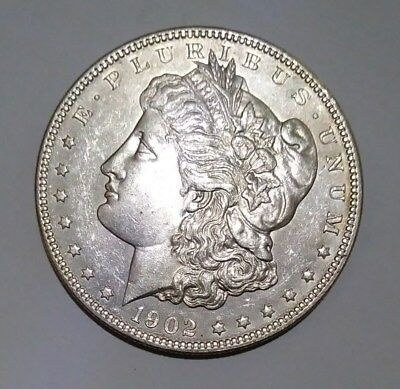 1902 P Morgan Silver Dollar Uncirculated Free Shipping