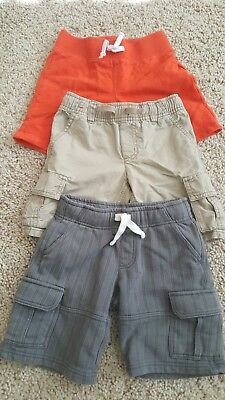 GYMBoRee & CRAZY 8 boys short pants size 4T -USED