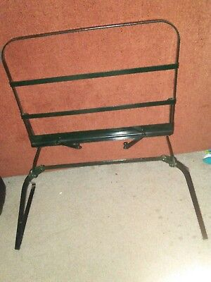 metal tabletop sheet music stand foldable Ponten reading stand vintage