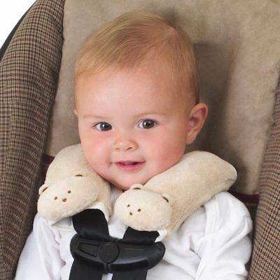 Cushy Straps Soft Fawn Pads Infant Car Seat Baby Child Carrier Belt Plushy Cover