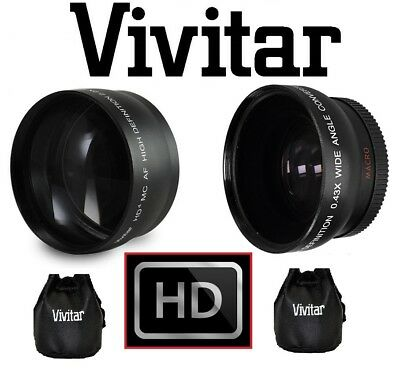 Wide Angle & Telephoto Lens Set For Samsung NX2000 NX300 NX1100 NX1000 (20-50mm)