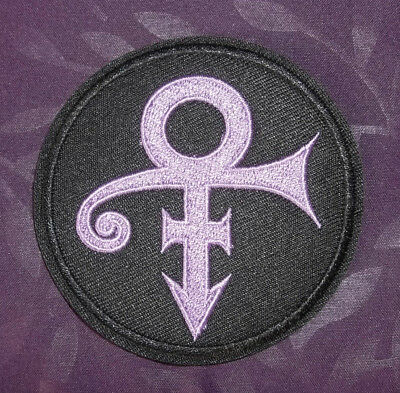 Prince Patch Symbol Artist Formerly Known As Prince Embroidered Sew/ Iron On