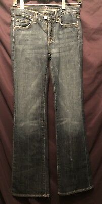 Seven For All Mankind Jeans - Girls Size 14 Euc - Dark Wash See Pics -