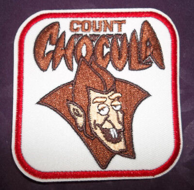 Count Chocula  Patch Monster Breakfast Cereal Boo Berry Frankenberry Yummy Mummy