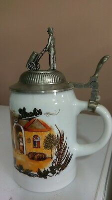 Limited Edition Stroh's Lidded Beer Stein