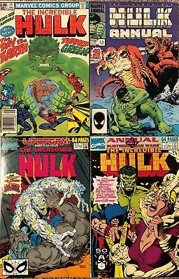 INCREDIBLE HULK Lot of Annuals #11, 13, 16, 17, 18, 20 + 1998 Annual Marvel