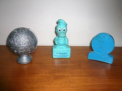 VINTAGE 3  1960-70s ERA THE WALES BANK OF NEW SOUTH WALES PLASTIC MONEY BOXES