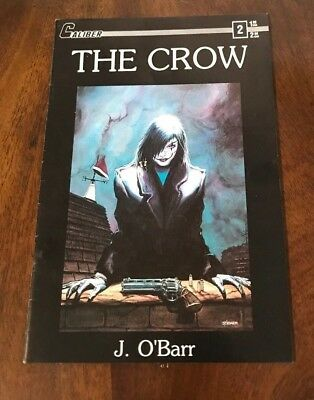 THE CROW, Volume 1 #2, J. O'Barr, Caliber Comics, March 1989