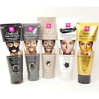 [ RK BY KISS ] Black Charcoal Peel-Off Mask / Gold Mask / Cleansing Foam