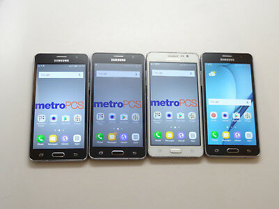 Lot of 4 Samsung Galaxy On5 GSM Unlocked Smartphones AS-IS GSM ^ (Please Read)