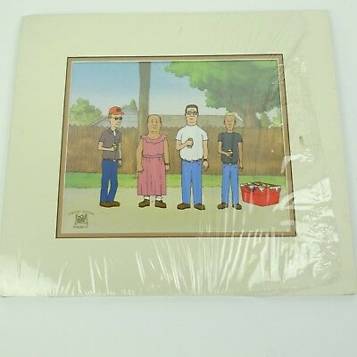 King Of The Hill Limited Edition Serigraph Cel - Bill in Dress