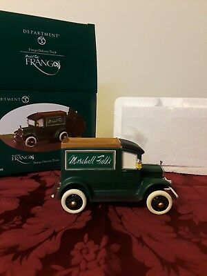 Dept 56 Marshall Field Frango Delivery Truck