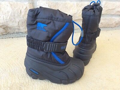 Toddler Boys Sz 8 SOREL insulated winter Boots