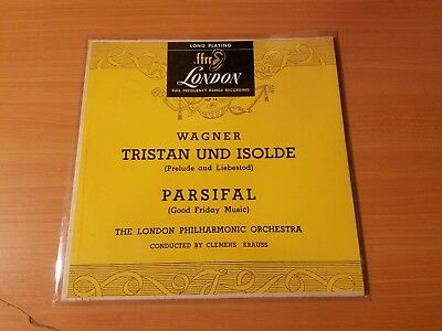 Wagner Tristan Und Isolde / Parsifal Vinyl LP Record ~ NM / VG ~ 1949 Classical
