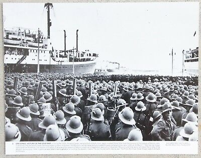 Vintage 11x14 Photograph Italian Troops Prepare Italy to Invade Ethiopia in 1935