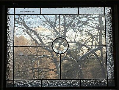 Architectural Glass Window Panel* American Made* Bevel Accent*