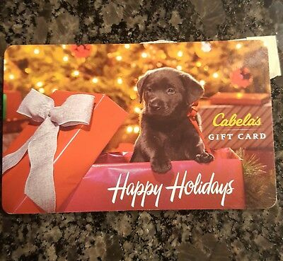 CABELAS $100 Gift Card **Free Shipping**